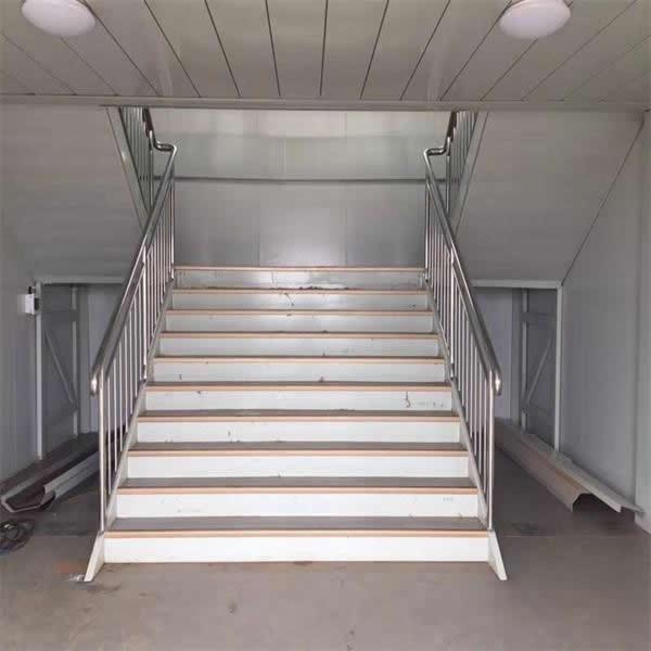 集装箱式活动房楼梯安装需要注意的问题