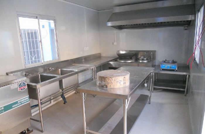 集装箱活动房厨房