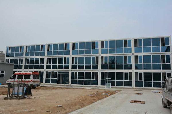 箱式集装箱房屋对建筑工地的重要性。