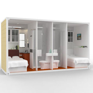 带独立卫生间的集装箱房