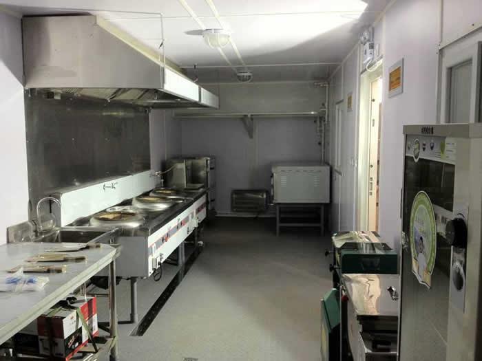 工地活动板房做厨房