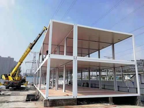北京专业打包箱式房施工