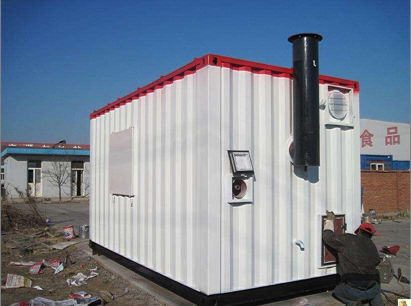 移动集装箱式锅炉房