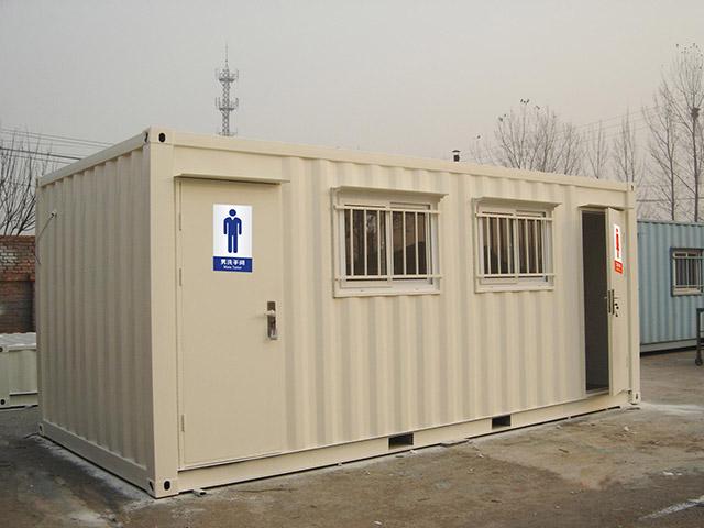 工地集装箱移动厕所