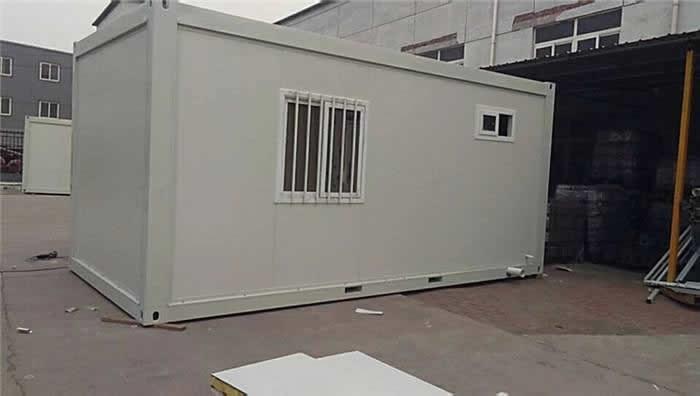 可拆卸集装箱房示意图