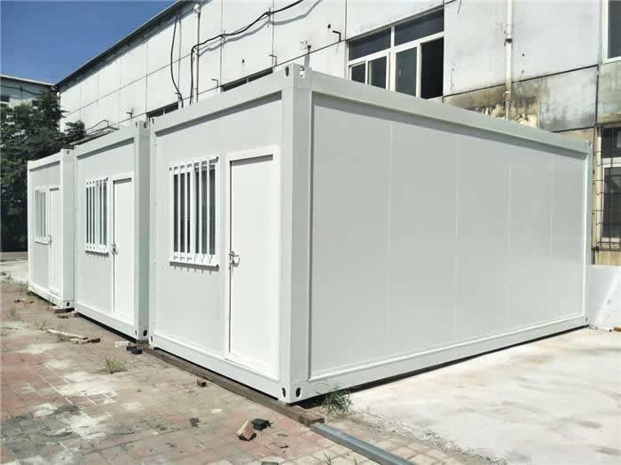 可拆卸集装箱房制作方法