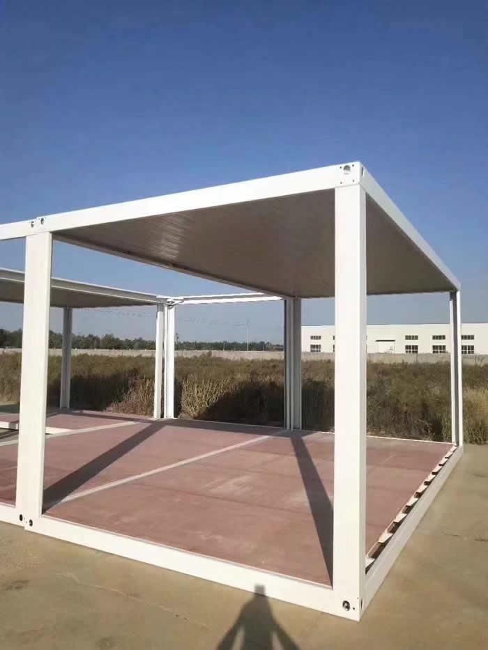 可拆卸框架集装箱