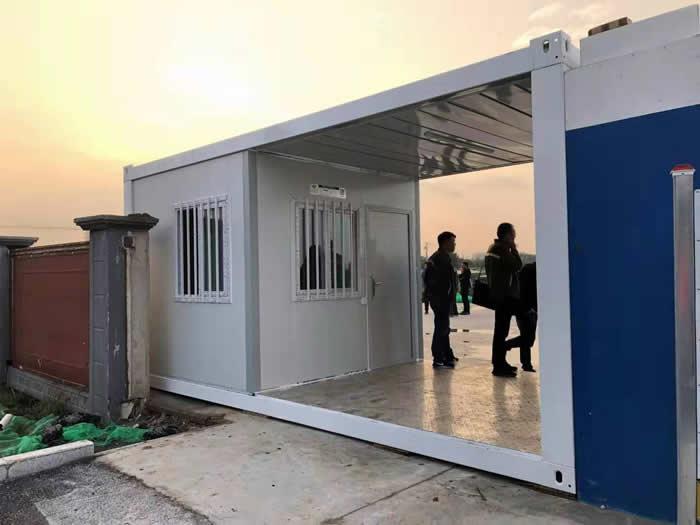 工地集装箱门卫门禁室