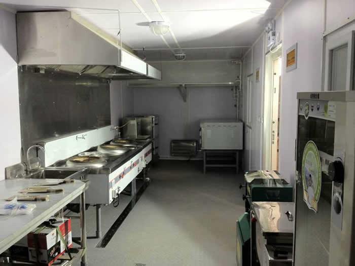 集装箱房厨房