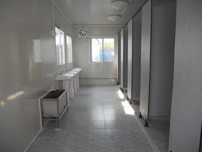 活动板房厕所怎么做