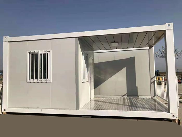 建筑工地大门门禁和门卫室