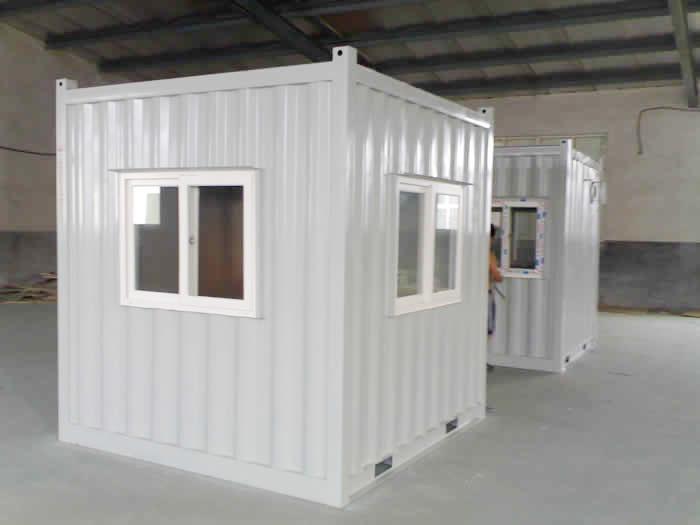 3米*3米集装箱岗亭