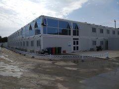 天恒集团建筑工地集装箱活动房建设项目